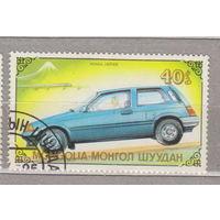 Авто машина  Монголия  1989 г лот 3