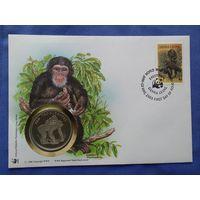 Сьерра-Леоне, 30 Лет WWF, Обыкновенный шимпанзе