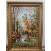 Картина-репродукция в рамке ,Осень'