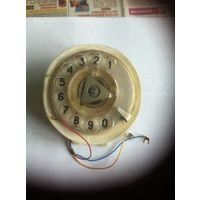 Стандартный нумератор цифр телефонного аппарата