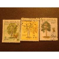Чехия 1993 деревья полная серия