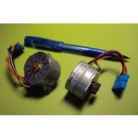 Электродвигатели шаговые производства фирм CROUZET и AEG