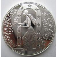 Андорра. 10 динеров (экю) 1995. Серебро. Пруф. 209