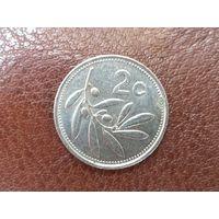2 цента 1993 Мальта