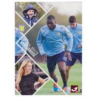 Aston Villa. Официальный мерч журнал футбольного клуба.