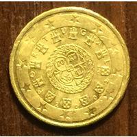 Португалия, 10 евроцентов 2002