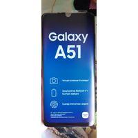 "Samsung A51. 6GB/128GB. Новый. Гарантия МТС. Android 10, экран 6.5"" AMOLED (1080x2400), Exynos 9611, ОЗУ 6 ГБ, флэш-память 128 ГБ, карты памяти, камера 48 Мп, аккумулятор 4000 мАч, 2 SIM."