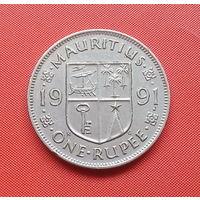 70-14 Маврикий, 1 рупия 1991 г.