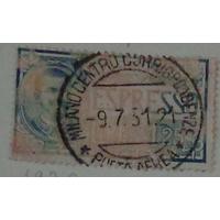 Король Виктор Эммануил III . Италия. Дата выпуска:1926-09-20