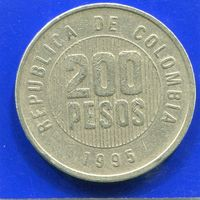 Колумбия 200 песо 1995