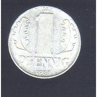 1 пфенниг Германия 1968_Лот #0381
