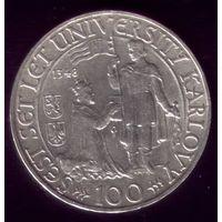 100 Крон 1948 год Чехословакия