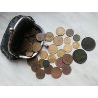 Кошелек с монетами (36 штук)