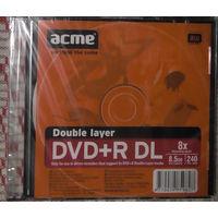 Диск DVD-R DL - 8,5 Gb двухслойный