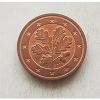 2 евроцента 2011 Германия J