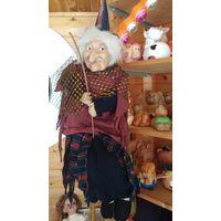 Кукла Баба Яга. 90-100 см