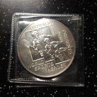 Памятная медаль Royal Australian mint B. Becker Tennis