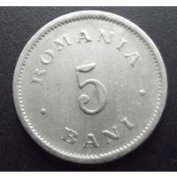 Румыния. 5 бани 1900