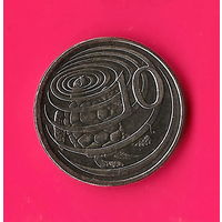 48-30 Каймановы острова, 10 центов 2008 г.