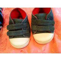Стильные пинетки кроссовки 3-6 м+