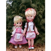 Куклы Красные Шапочки пара одним лотом