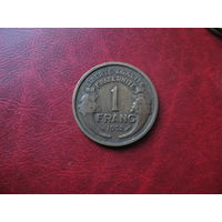 1 франк 1932 год Франция