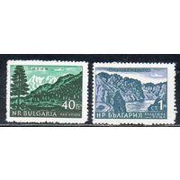 Стандартный выпуск Виды Болгарии Болгария 1962 год чистая серия из 2-х марок (М)