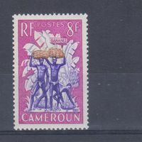[2416] Французские колонии.Камерун 1954. Культура и быт.Сбор бананов. MH