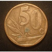 Южная Африка. ЮАР. 50 центов 2010 год