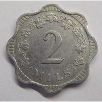 Мальта 2 миля 1972 г