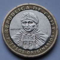 Чили, 100 песо 2006 г.