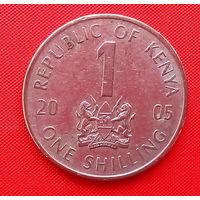 58-03 Кения, 1 шиллинг 2005 г.