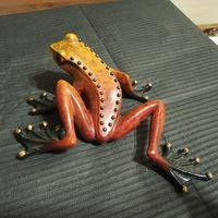 Лягушка коричневая