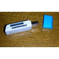 Картридер для флешкарт   для телефона компьютера