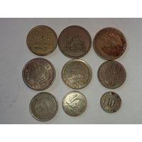 Сборный лот монет Египет ,Иран , Португалия , ЮАР и др.
