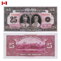 [КОПИЯ] Канада 25 долларов 1935г.(French)