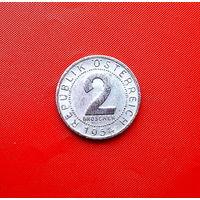 81-29 Австрия 2 гроша 1954 г.