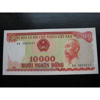 ВЬЕТНАМ   10 000 донгов (образца 1993 года, P115, UNC)