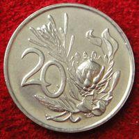 6818: 20 центов 1974 ЮАР
