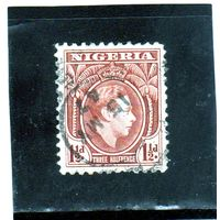 Нигерия. Ми-49. Король Георг VI. 1950.