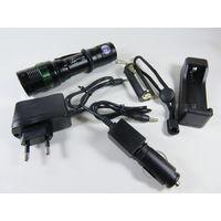 Тактический LED Светодиодный фонарь NGY YY-109-T6