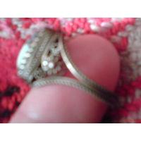 Кольцо ажурное