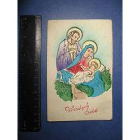 Старинная польская открытка торг обмен