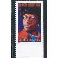 США. Ширли Чисхолн, политик, кандидат в президенты в 1972 году