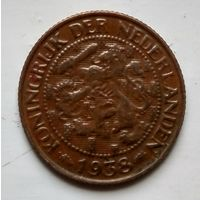 Нидерланды 1 цент, 1938 1-11-53