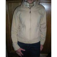 Куртка-ветровка джинсовая р. 44-46 как новая