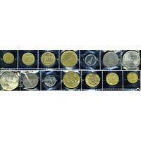 Израиль, комплект из 7 монет
