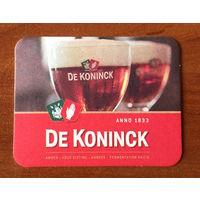 Подставка под пиво De Koninck /Бельгия/