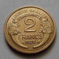 2 франка, Франция 1936 г.