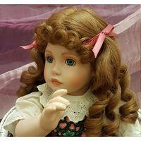 Кукла Коллекционная.Сладкая клубничка.